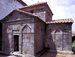 Capilla visigoda San Fructuoso de Montelios