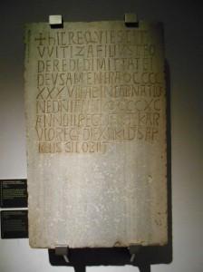 Lápida de Witiza