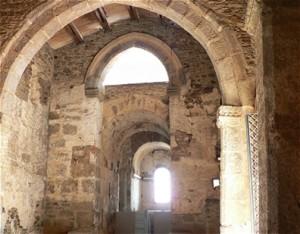 Sta Lucía del Trampal, interior