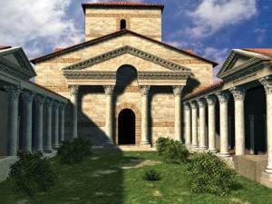 Peristilo de la Basílica