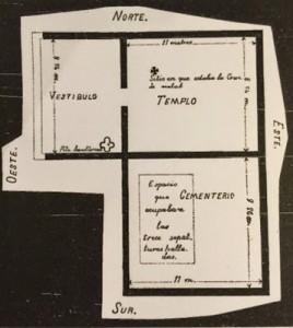 Plano de la Basílica. Informe Matías.R.Martínez. 1898Biblioteca Virtual Miguel de Cervantes. Boletín de la Real Academia de la Historia