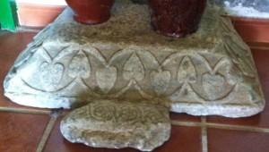 Cimacio-imposta de Santa María del Valle. Museo Casa del Corregidor. Burguillos del Cerro.